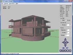 Import your own 3D models - sun & shadow analysis software